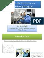 Manejo de líquidos en el paciente quirúrgico