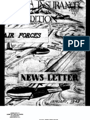 Air Force News ~ Jan-Dec 1942 | Life Insurance | Insurance