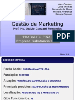 Trabalho Final - Adm de Marketing