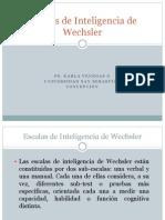 Escalas de Inteligencia de Wechsler y WISC-R