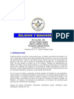Plancha n.00637 - Masoneria y Religion