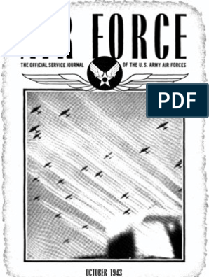 Air Force News ~ Oct-Dec 1943 | United States Army Air