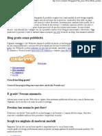 (Blog gratis-Webnode)