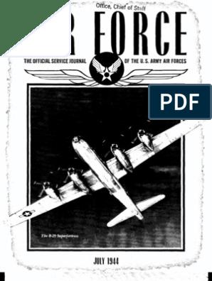 Air Force News ~ Jul-Sep 1944 | United States Army Air
