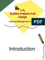 sistem analysis design-LMS portal