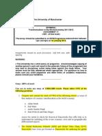 IDPM60341 Essay Questions[1]