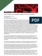 Revolutionary Socialists Statement 29 December 2011