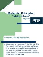 Modernism Principles