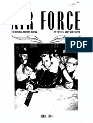 Air Force News ~ Apr-Jun 1944 | United States Army Air Forces