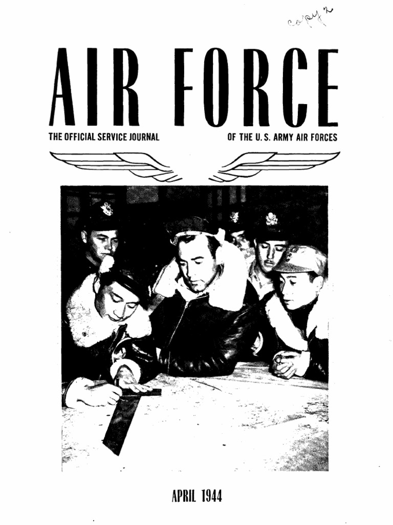 Air Force News Apr Jun 1944 United States Army Air Forces