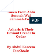 Asharis & Their Deviant Creed on Qadar