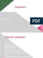 Teknik Industri