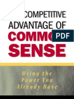7189820 the Competitive Advantage of Common Sense Fergus O27Connel