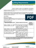 Fact Sheet Siting Requirements