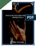 Notas de Estudio Sobre La Homiletic A Por Willie Alvarenga