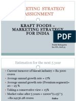 Kraft Foods Marketing in India