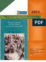 Registro Documental de Los Titulos de Propiedad Ratifcados Por El Gobierno de Benito Juarez en 1859 en La Obra de Ulises Urbano Lassepas