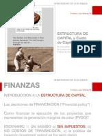 Finanzas-10. Estructura y Costo de Capital i(1)