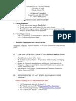 Local Govt Outline Final 2008