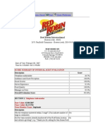1 Red Robin Sample Report