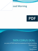TATA Corus Deal