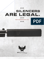 Silencers Are Legal