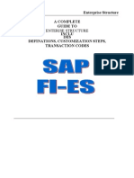 Sap Fico Enterprise Structure