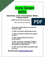 Corona Green 2020R2