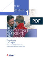 Tomo 1 - Prediabetes Y Diabetes Tipo 1 De Reciente Diagnóstico
