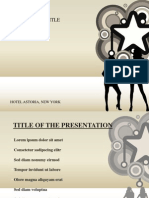 Fashion Ppt Template