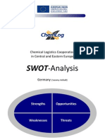 Chemlog 3.1.3 SWOT FINAL Germany-Chemical Industry SWOT