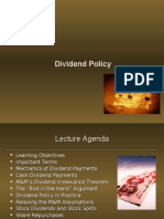 Dividend Policy 1
