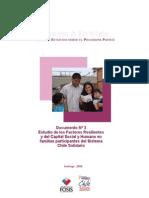 Capital Humano y Resiliencia Chile Solidario