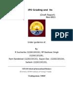 Grading and Usefulness IPO