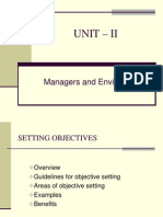 Setting Objectives,MBO