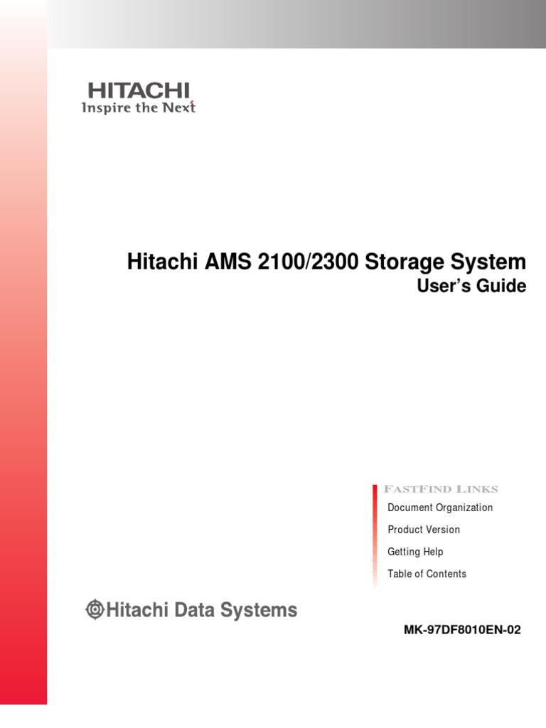 Hitachi virtual storage platform hitachi truecopy® user guide.