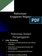 Reformasi Anggaran Negara