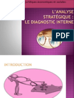 Analyse stratégique diagnostic interne