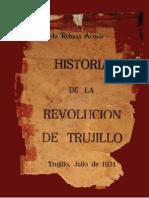 Historia de la Revolución de Trujillo, Capítulo I por Alfredo Rebaza Acosta