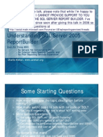 Understanding SQL Server 2005 Report Builder