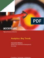 Accenture Analytics Key Trends