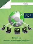 IMRB-IAMAI_ICube Market Research Report Nov 2011_India's Internet Market