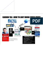 How to  loot the Australian Super Funds with the Carbon Tax