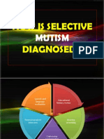 How is Selective Mutism Diagnosed