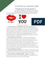 13 Dicas para aumentar seu vocabulário inglês 2