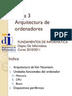 Tema3ArquitecturadeOrdenadores
