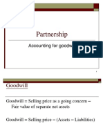 Partnership GOODWILL