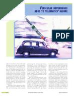 4.Vehicular Dependence