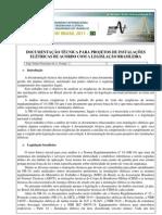 Artigo Documentação Técnica Projetos Elétricos