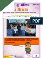 Bulletin Rigoberta Menchú Number 2-English